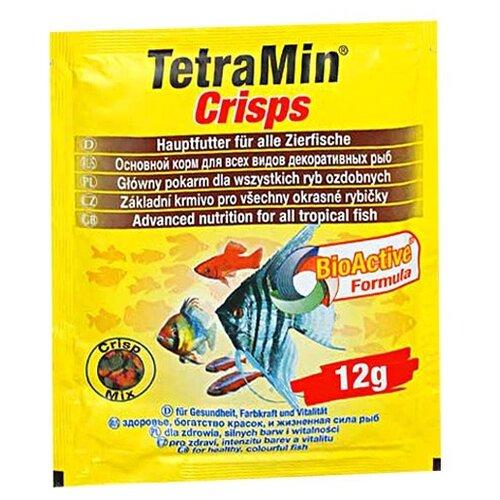 Фото - Сухой корм для рыб Tetra TetraMin Crisps, 12 г сухой корм для рыб tetra tetramin granules 200 г
