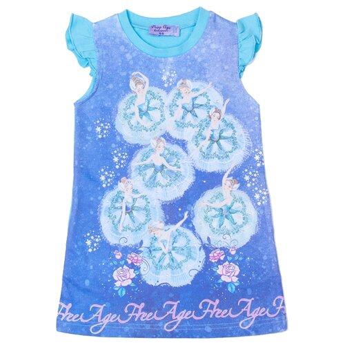 Платье Free Age размер 104, голубойПлатья и сарафаны<br>
