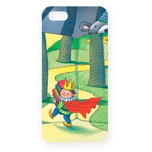 Чехол Mitya Veselkov IP5.МITYA-163 для Apple iPhone 5/iPhone 5S/iPhone SE Дорога в сказочный лес mitya veselkov ежик в молочном тумане чехол для apple iphone 5 5s