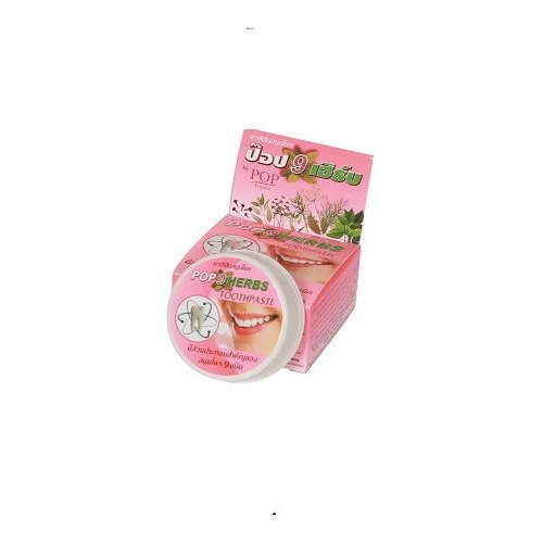 Зубная паста POP Popular Растительная 9 трав, 30 г