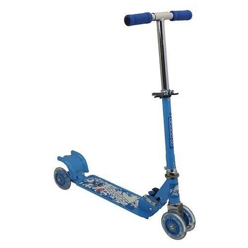 Детский городской самокат Charming CMS010, голубой