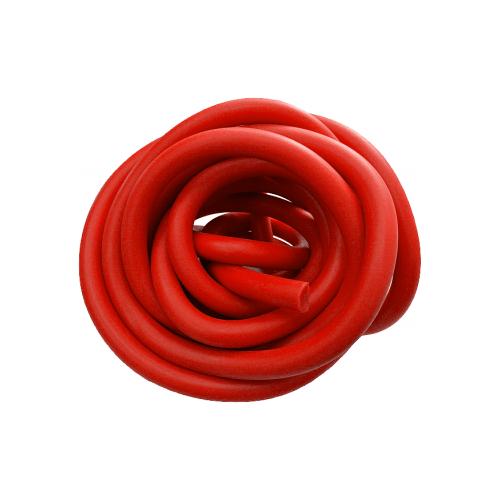 Эспандер универсальный Indigo трубка латексная Medium 300 см красный