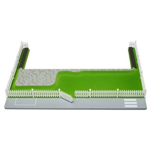 Lundby участок к домику Smaland Зеленый газон LB_60101600, зеленый/белый