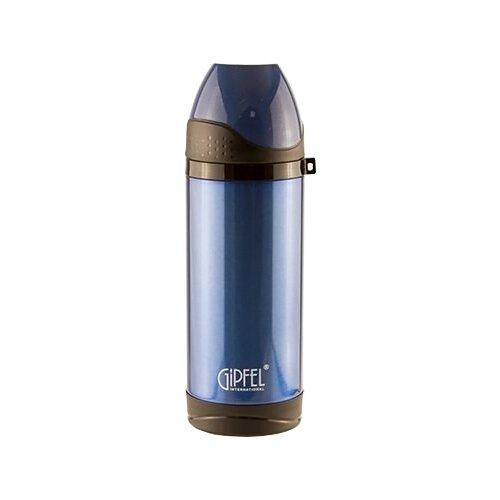 Классический термос GIPFEL 8303, 0.37 л синий