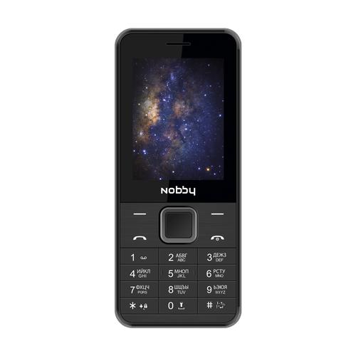 Телефон Nobby 200 черный / серый (NBP-BP-24-02)