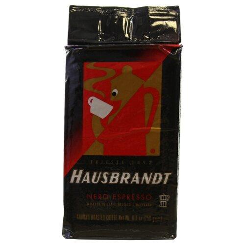 Кофе молотый Hausbrandt Nero, 250 г hausbrandt кофе в зернах академия 0 5 кг вакуумная упаковка 537 hausbrandt