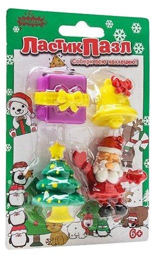 Бумбарам ластик-пазл Дед мороз
