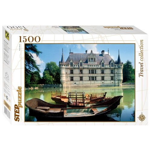 Пазл Step puzzle Travel Collection Франция Азей-ле-Ридо (83037), 1500 дет.