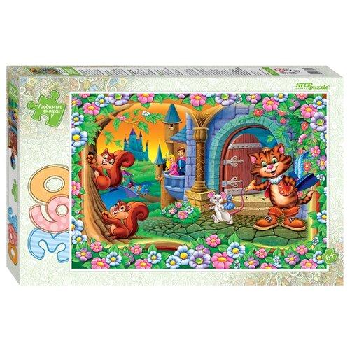 Пазл Step puzzle Любимые сказки Кот в сапогах (73073), 360 дет. step puzzle пазл для малышей дикие животные 4 в 1