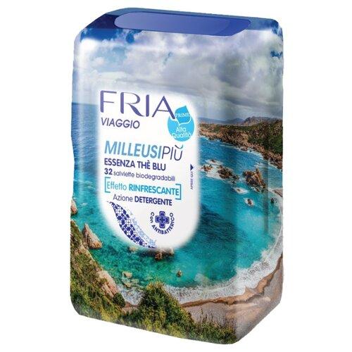 Влажные салфетки FRIA Travel освежающие, 32 шт.