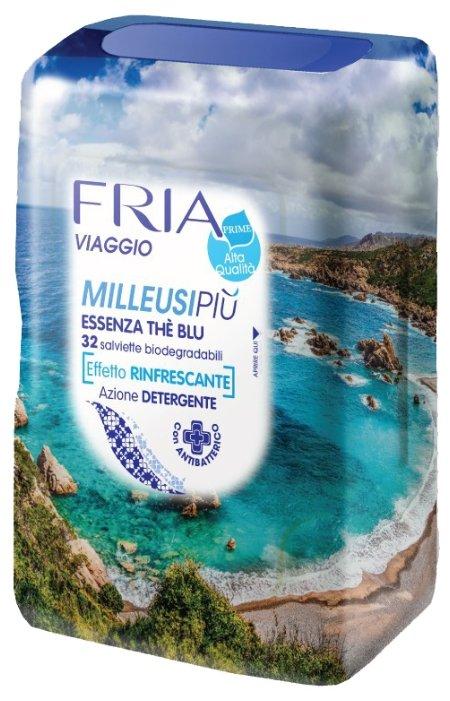 Влажные салфетки FRIA Освежающие travel, 32 шт