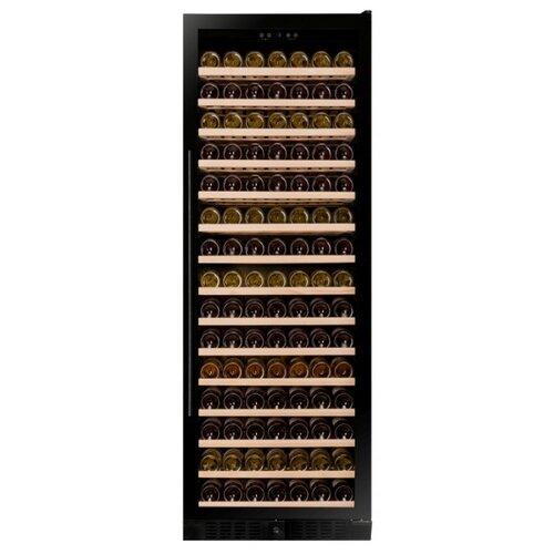 Винный шкаф Dunavox DX-194.490BK встраиваемый винный шкаф dunavox dx 166 428dbk