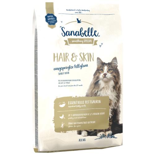 Корм для кошек Sanabelle для здоровья кожи и шерсти 10 кг