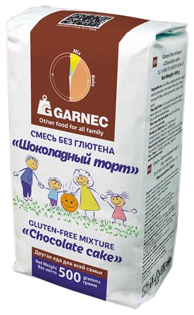 Гарнец Смесь Шоколадный торт без глютена, 0.5 кг