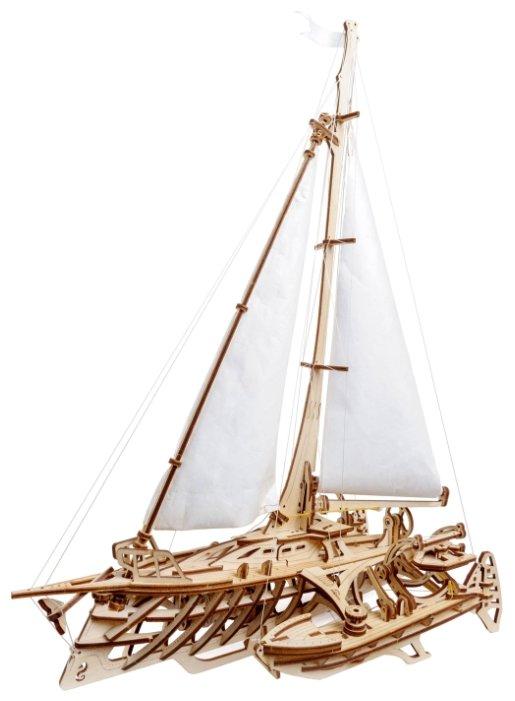 Сборная модель UGEARS Тримаран Мерихобус,,