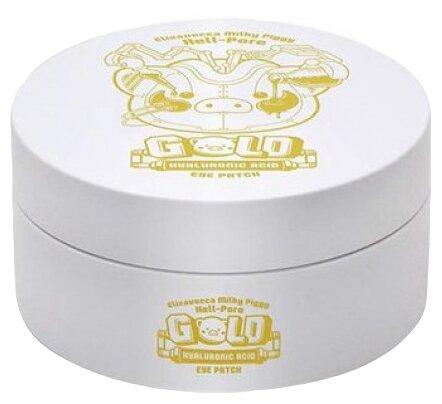 Elizavecca Milky Piggy Hell Pore Gold Hyaluronic Acid Eye Patch Гидрогелевые патчи с гиалуроновой кислотой, 60 шт