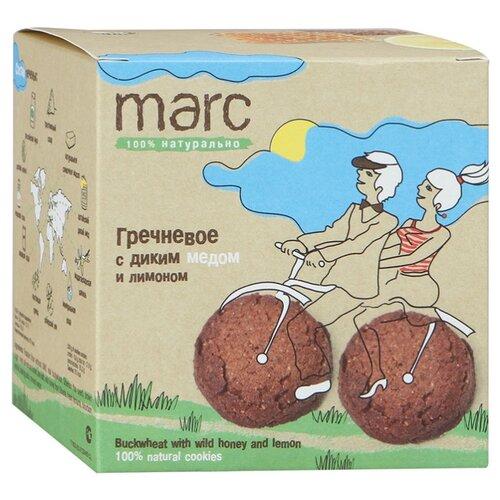 Печенье Marc 100% натурально Гречневое с диким мёдом и лимоном, 150 г