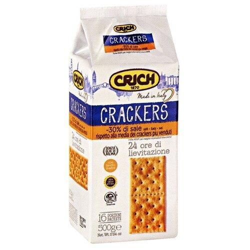 Крекеры Crich несоленый, 500 гПеченье, крекер<br>