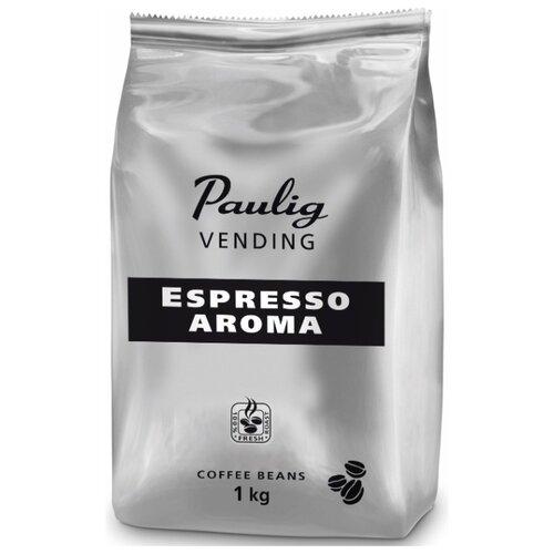 Кофе в зернах Paulig Vending Espresso Aroma, смесь арабики и робусты, 1 кгКофе в зернах<br>