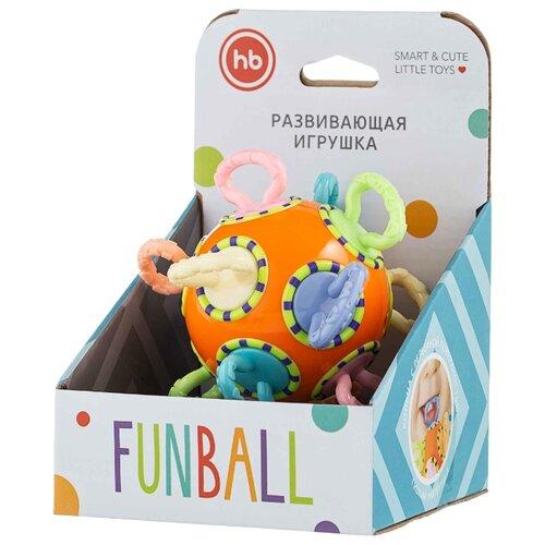 Погремушка Happy Baby Funball оранжевый