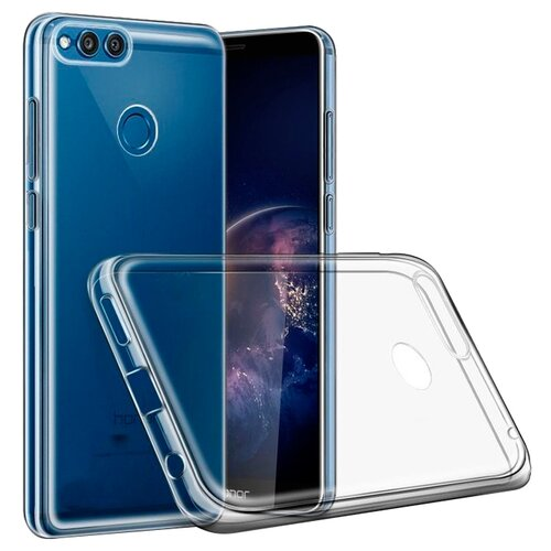 Чехол Media Gadget ESSENTIAL CLEAR COVER для Huawei Honor 7C прозрачный