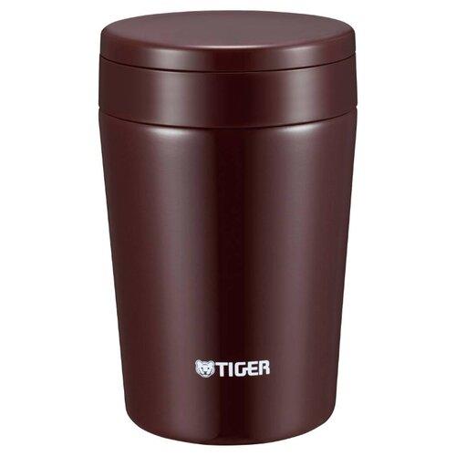 Термос для еды TIGER MCL-A038 (0,38 л) chocolate brown