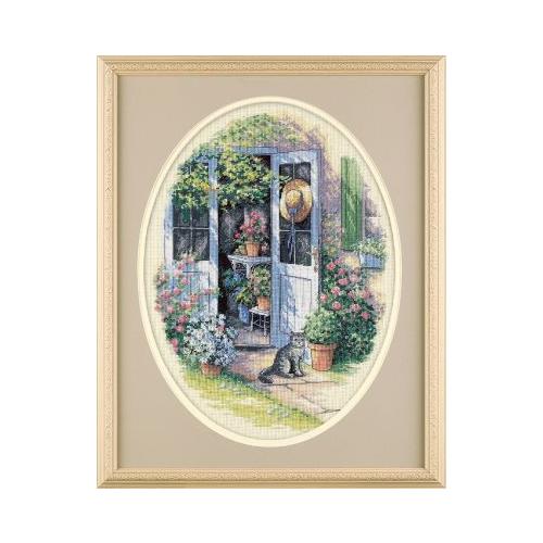 Купить Dimensions Набор для вышивания Garden Door (Садовая дверь) 30 х 41 см (35124), Наборы для вышивания