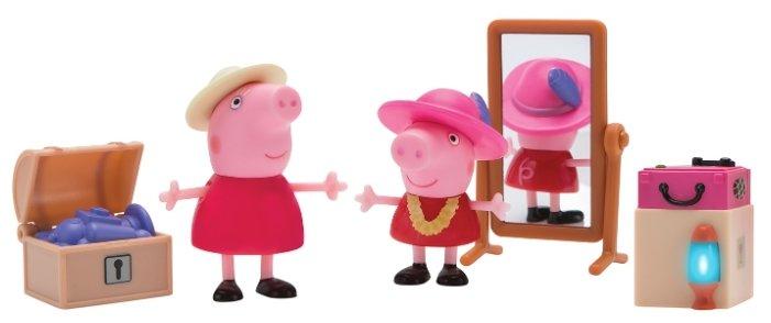 Игровой набор PEPPA PIG Пеппа и Бабушка в гардеробной