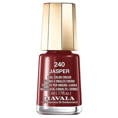 Лак Mavala Nail Color Cream, 5 мл, оттенок 240 Jasper лак для ногтей nail color cream 5мл 240 jasper