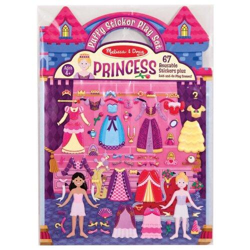 Купить Книжка с наклейками Принцессы (9100), Melissa & Doug, Книжки с наклейками