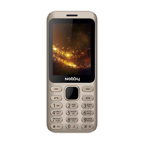 Телефон Nobby 320 золотистый (NBP-BP-28-32)
