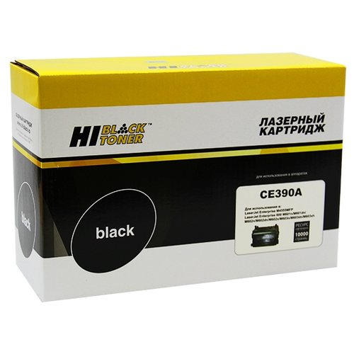 Фото - Картридж Hi-Black HB-CE390X, совместимый картридж hi black hb 108r00796