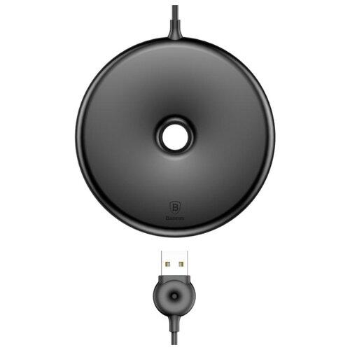Фото - Беспроводная сетевая зарядка Baseus Donut Wireless Charger черный беспроводная сетевая зарядка baseus ufo desktop wireless charger черный