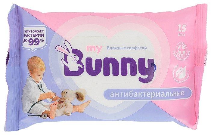 Влажные салфетки My Bunny антибактериальные