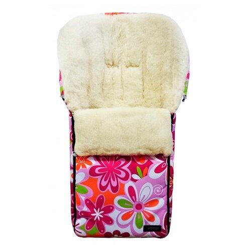 Купить Конверт-мешок Womar Aurora в коляску 95 см 14 цветки, Конверты и спальные мешки