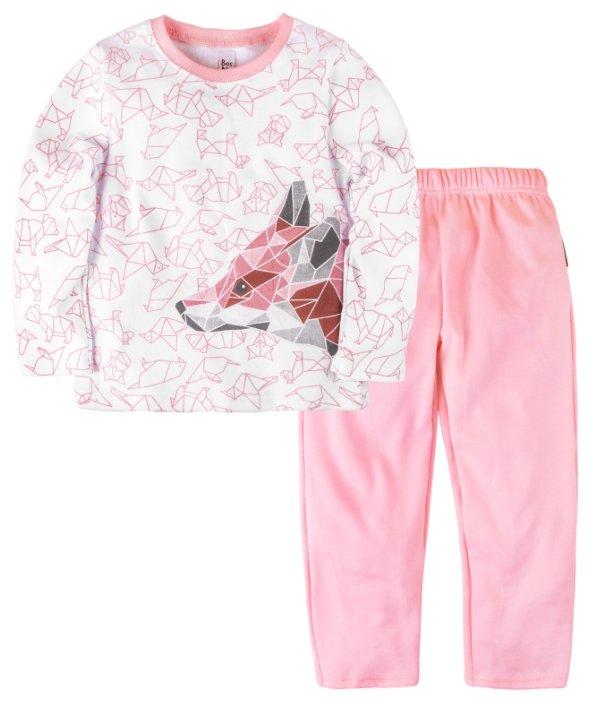 Пижама Bossa Nova размер 30, розовый/белый