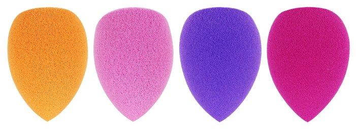 Набор спонжей Real Techniques 4 mini miracle complexion sponges, 4 шт.