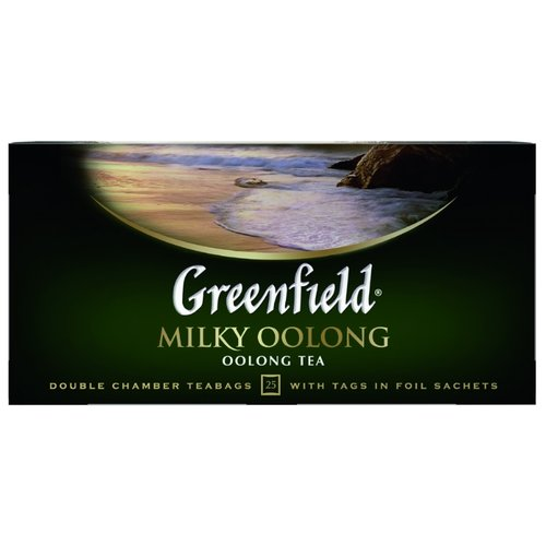 Чай улун Greenfield Milky Oolong в пакетиках , 25 шт.