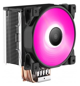 PCcooler Кулер для процессора PCcooler GI-D56V HALO RGB