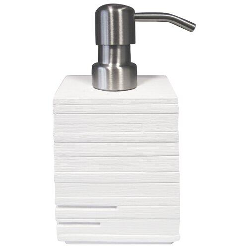 Дозатор для жидкого мыла RIDDER Brick, белый