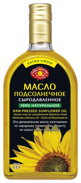 Golden Kings of Ukraine Масло подсолнечное сыродавленное