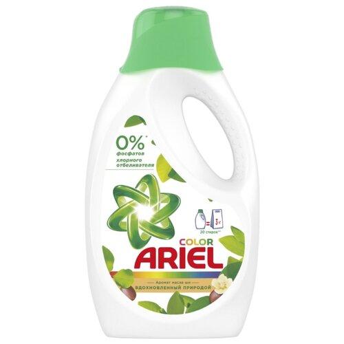Гель для стирки Ariel для цветных тканей Аромат Масла Ши 1.3 л бутылкаГели и жидкости для стирки<br>