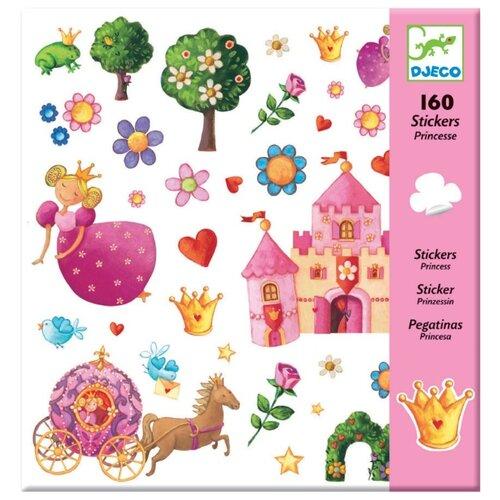 Купить DJECO Наклейки Принцессы, 160 шт. (08830)