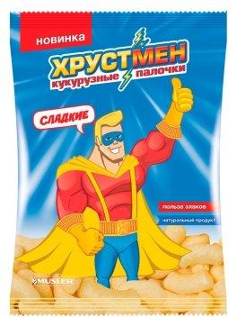 Кукурузные палочки Хрустмен сладкие 140 г