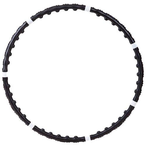 Массажный обруч BRADEX Профессионал SF0002 100 см белый/черный обруч массажный разборный z sports диаметр 100 см