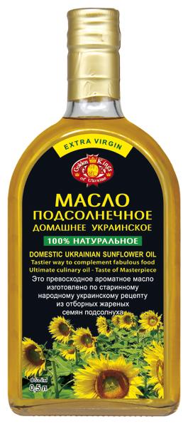 Golden Kings of Ukraine Масло подсолнечное Домашнее
