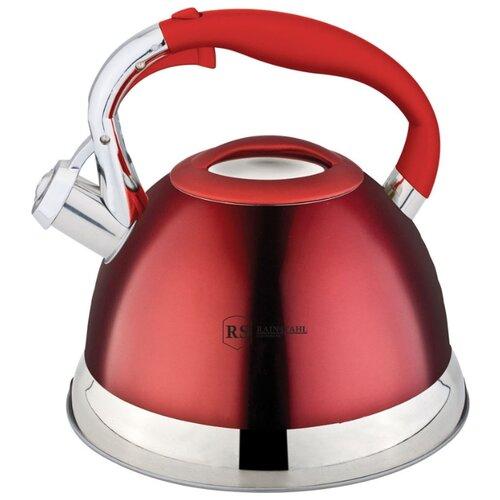 Rainstahl Чайник 7609-27RS\WK 2,7 л красный