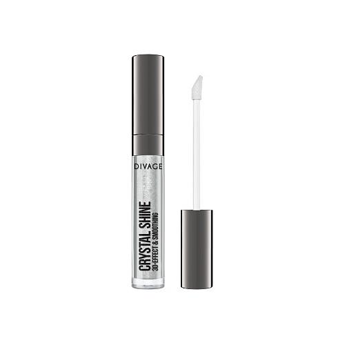 DIVAGE Блеск для губ Lip Gloss Crystal Shine, 01 divage блеск для губ lip gloss crystal shine 09