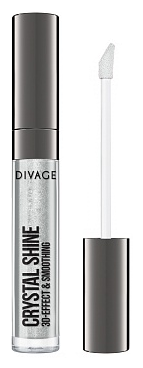 DIVAGE Блеск для губ Lip Gloss Crystal Shine