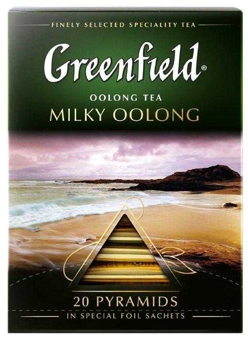 Чай улун Greenfield Milky Oolong в пирамидках — купить по выгодной цене на Яндекс.Маркете